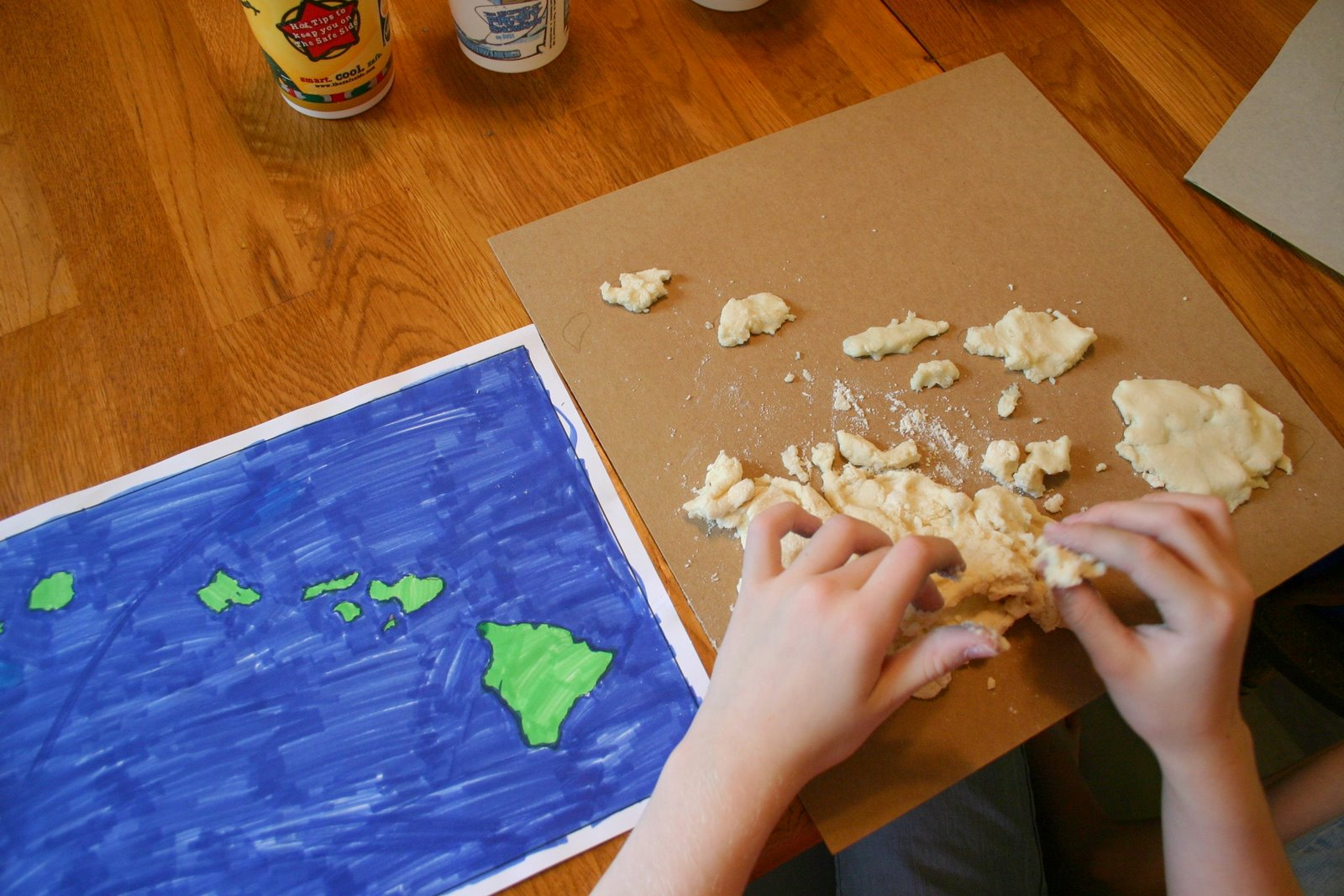 Salt Dough Maps- Step by Step - Blog, She Wrote