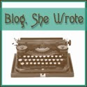 Blog, She Wrote Button