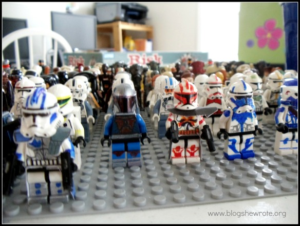 Blog She Wrote: Custom minifigs