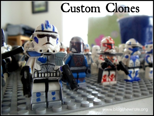 blog she wrote: custom clones