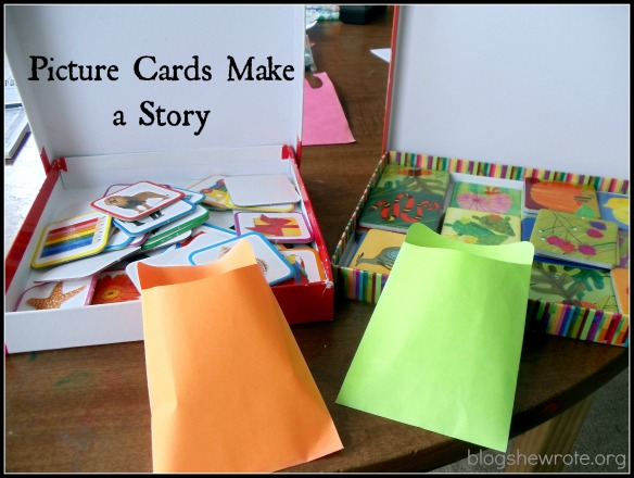 Blog She Wrote: Picture Story Cards
