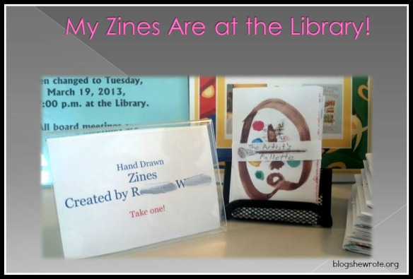 Blog She Wrote: Zine Presentation