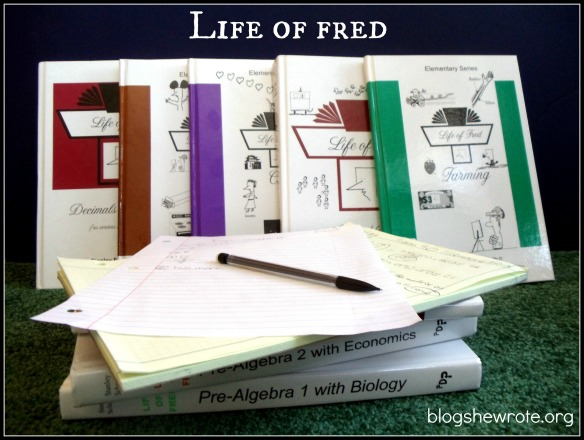 Blog She Wrote: Life of Fred