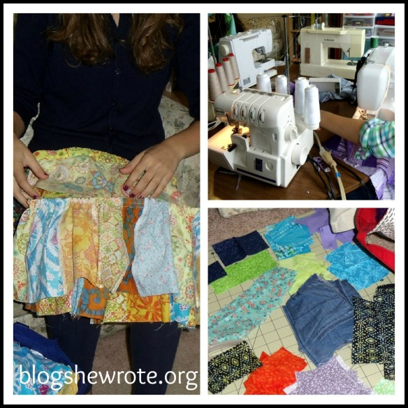 Blog She Wrote: Sewing Adventure