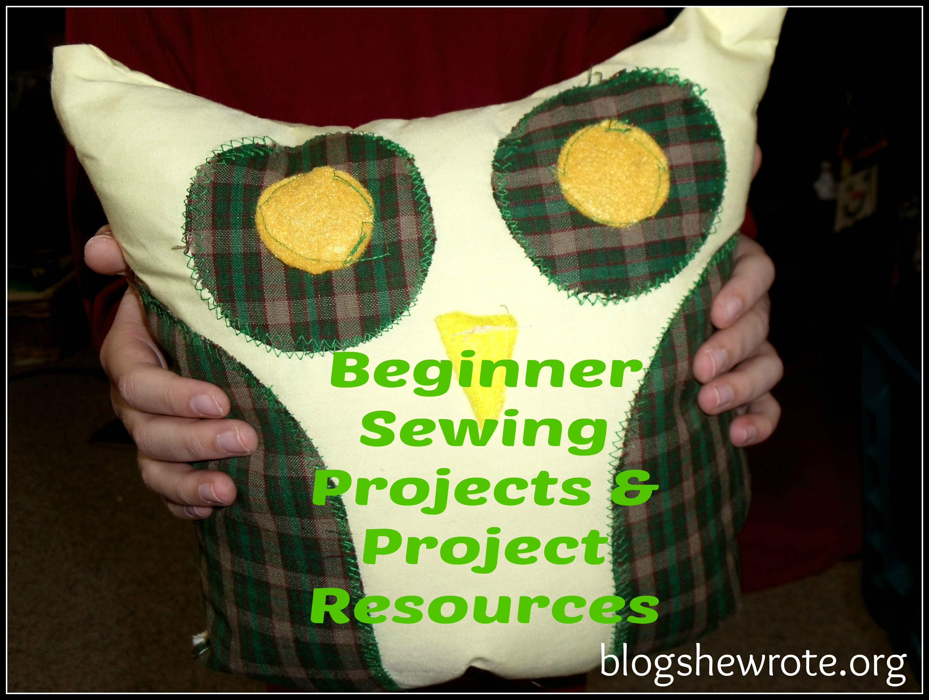 beginner sewing projects No need to be wary of these sewing projects they really are easy, promise whether you're in the mood to make something warm and cozy like gloves or a scarf, or want to try your hand at.