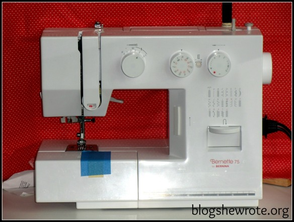 Blog She Wrote: Choosing & Learning a Sewing Machine