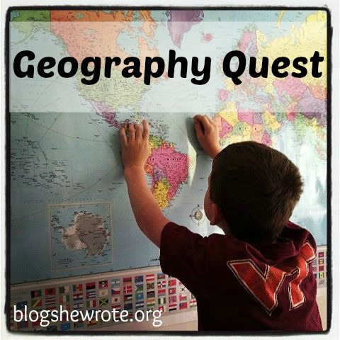 Blog, She Wrote: Geography Quest