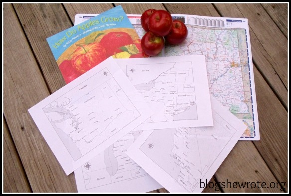 Blog, She Wrote: Geography Quest- Apple Growers Edition